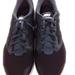 Nike Shoes - Nike Downshifter 6 4E Mens Black Sneakers WIDE